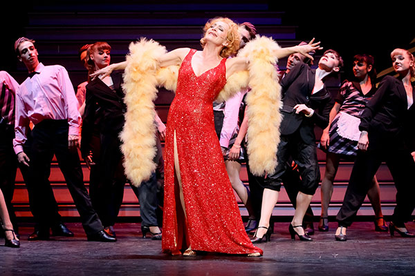 "April Hailer in ""Hello, Dolly!"""